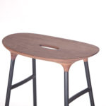 Form Bar Stool featured in INEX magazine