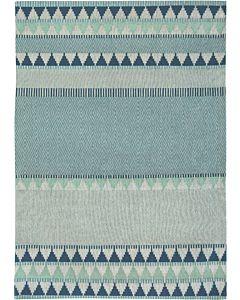 Tobi Teal - Flat Weave Rug