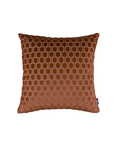 Bakerloo Cushion Burnt Orange