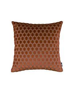 Bakerloo Cushion Burnt Orange